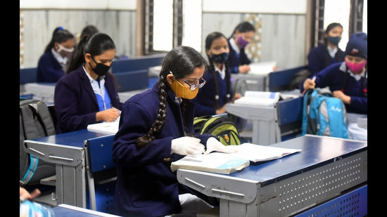 In the wake of coronavirus, CBSE board exams for Class 10 have been cancelled, and for Class 12 have been postponed. The revised dates will be announced after June 1. (Photo: Raj K Raj/HT (For representational purposes only))