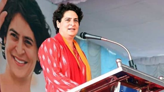 Priyanka Gandhi Vadra had made the remarks while speaking to state party leaders during a virtual meeting.(ANI)