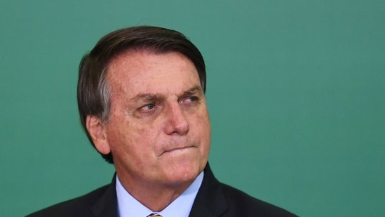 Bolsonaro and his allies say he's being unfairly blamed for Brazil's surge in Covid-19 deaths, a toll that trails only that of the United States.(AFP file photo)