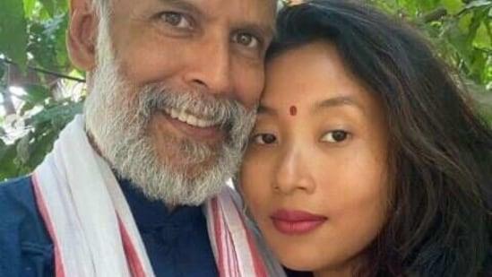 Milind Soman and Ankita Konwar got married in 2018.