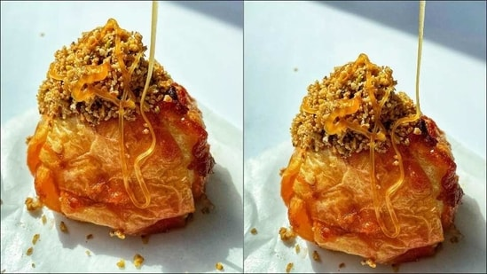 Recipe: Try Oat Stuffed Apple Delight and you'll never eat apple normally again(Instagram/endlessmunchies)