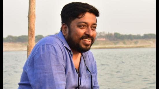 Director Ritam Srivastav near Ramnagar Fort in Varanasi (Sourced)