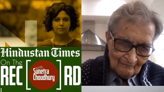On the Record with Amartya Sen