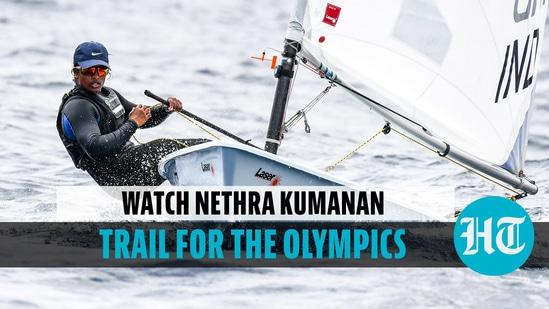 Watch Nethra Kumanan trail for the Olympics