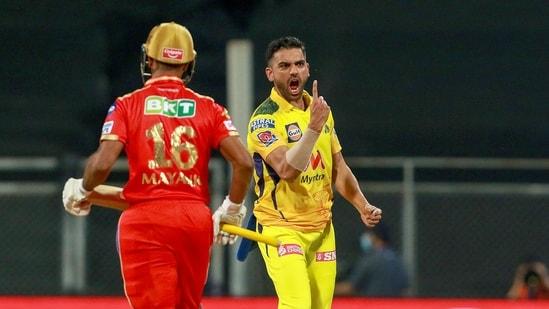 IPL 2021 highlights, PBKS vs CSK: Deepak Chahar stars in Chennai Super Kings'  win over Punjab Kings   Hindustan Times