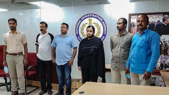 The main accused, including Swapna Suresh and Sandeep Nair, are in custody after being detained under Cofeposa (Conservation of Foreign Exchange and Prevention of Smuggling Activities Act).(PTI Photo)