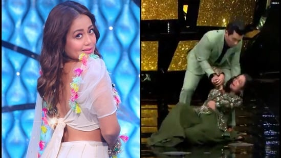 Neha Kakkar is currently judging Indian Idol 12.
