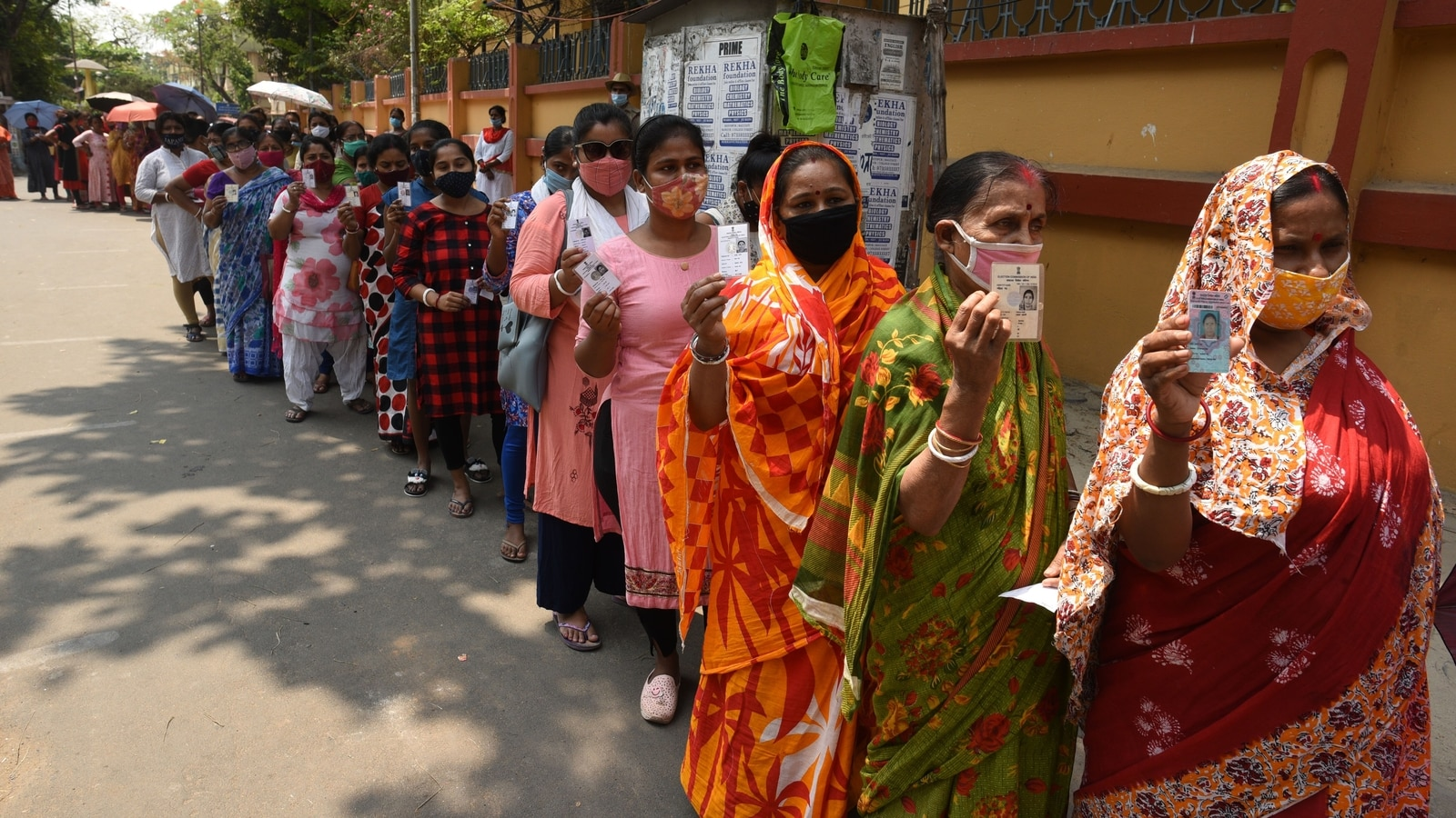 West Bengal 5th phase election concludes with high turnout of women voters - Hindustan Times