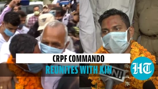 'Happy to meet my family': CRPF jawan released by Naxals reaches home in Jammu