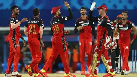 Royal Challengers Bangalore (RCB) against SRH.(IPL/BCCI)