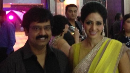Boney Kapoor shares a pic of late Sridevi posing with actor Vivekh.