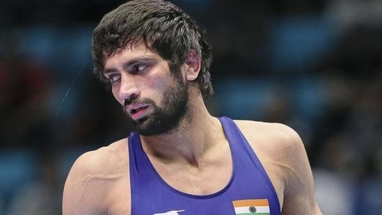 Wrestler Ravi Dahiya.(File)