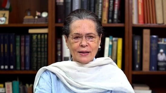 Sonia Gandhi on Saturday made suggestions to the Centre to deal with the Covid-19 pandemic. (ANI File Photo )