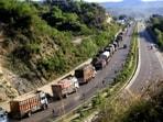 Jammu-Srinagar national highway reopens after landslide debris cleared(Twitter/State_Times)
