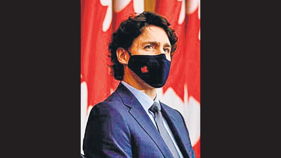 Canada's Prime Minister Justin Trudeau attends a news conference, in Ottawa, Ontario. (REUTERS)