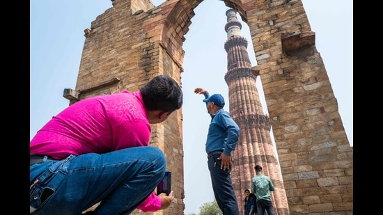 Due to the prevailing Covid situation, all centrally protected monuments/sites under Archaeological Survey of India have been closed until May 15. (Photo: Jewel SAMAD/AFP (Photo for representational purposes only))