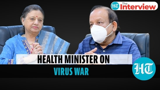 Union health minister Harsh Vardhan joins Kumkum Chadha on The Interview