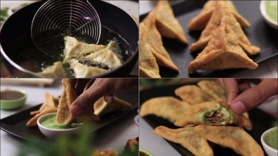 Recipe: Chicken Samosa are a big hit every Ramadan. Here's how you can make them(Instagram/sooperchef)