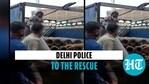 दिल्ली पुलिस जरूरत के लिए अस्पताल में 20 ऑक्सीजन सिलेंडर की व्यवस्था करती है