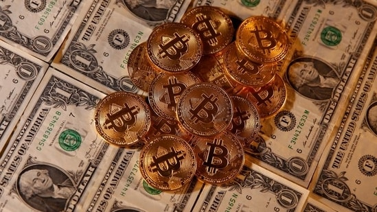 Bitcoin slumps 14% as pullback from record gathers pace | Hindustan Times