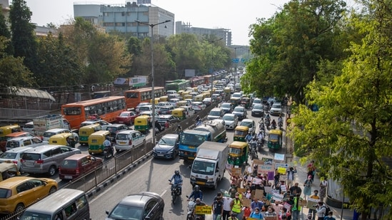 India's capital New Delhi will impose a week-long lockdown from Monday night, officials said. (AP)