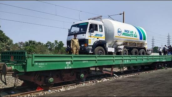Railways gears up to run Oxygen Express. (Photo: Twitter/Ministry of Railways)