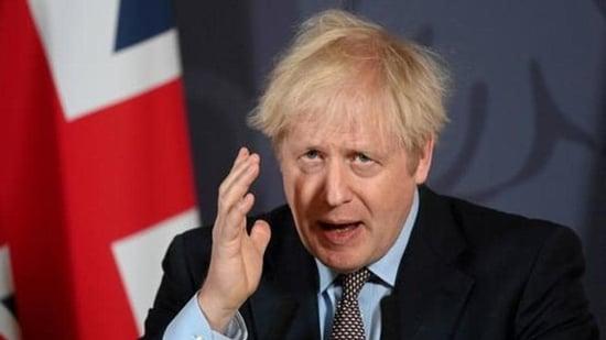 British Prime Minister Boris Johnson. (REUTERS PHOTO.)