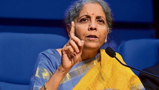 Finance minister Nirmala Sitharaman.(Mint file photo)