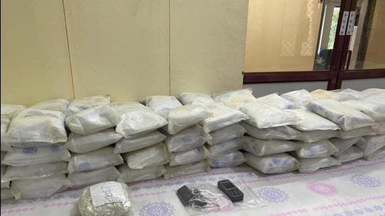 The five Sri Lankan nationals have told the NCB that they picked up the drug consignment from an unidentified Iranian boat. (Sourced)