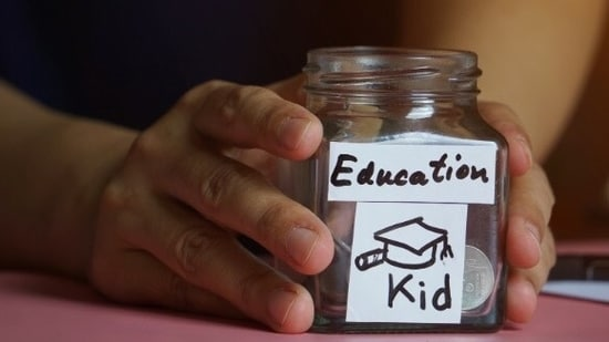Apart from savings, parents need to plan their children's education expenses. They also need to consider inflation if they are planning to cover the cost of education after 10 or 15 years.(Shutterstock)