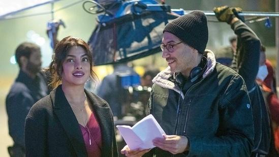 Priyanka Chopra and Ramin Bahrani worked together on The White Tiger.
