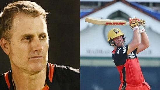 Simon Katich (left) and AB de Villiers(HT Photo)