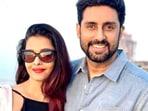 Abhishek Bachchan and Aishwarya Rai Bachchan are celebrating their 14th wedding anniversary.