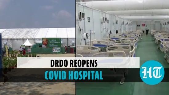DRDO reopens Covid hospital