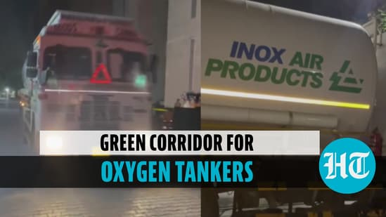 Green Corridor for Oxygen Tankers