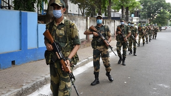 Each company of paramilitary force has 80 personnel.(PTI representative image)