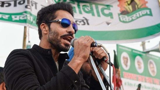 Actor Deep Sidhu. (File photo)