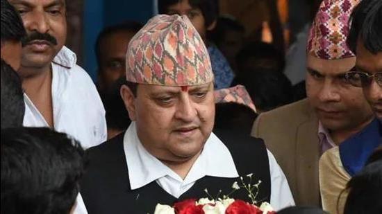 File photo: Nepal's former king Gyanendra Shah. (ANI)