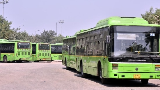 However, interstate bus terminals will operate as usual, and only passengers with valid tickets will be allowed to travel to and from the terminals.(Sonu Mehta/HT file photo)