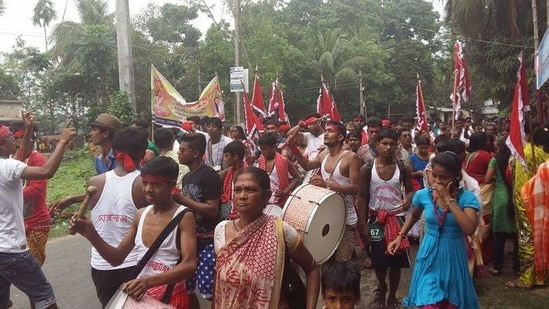 A Matua Mahasangha rally in West Bengal. (Photo via All India Matua Mahasangha on Facebook)