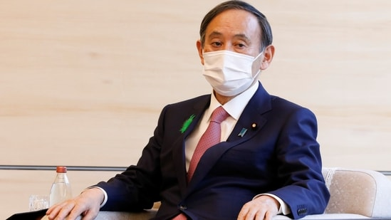 Japan's Prime Minister Yoshihide Suga has called off his India visit. (Reuters File Photo )