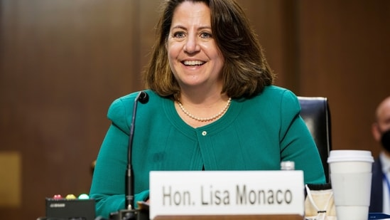 US Deputy Attorney General Lisa Monaco(Reuters)