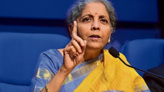 Finance minister Nirmala Sitharaman.(Mint photo)