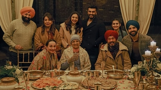 Sardar Ka Grandson trailer: Arjun wants to shift an entire house from  Lahore to Amritsar to fulfill Neena Gupta's wishes | Hindustan Times