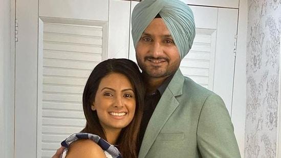 Harbhajan Singh and wife Geeta Basra(Instagram)