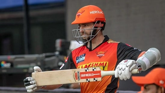 Kane Williamson during a match between the Punjab Kings and the Sunrisers Hyderabad, at the M. A. Chidambaram Stadium in Chennai.( (ANI Photo/IPL Twitter))
