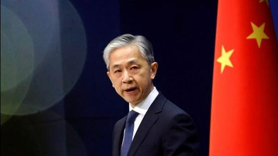 A file photo of Chinese foreign ministry spokesman Wang Wenbin in Beijing. (REUTERS)