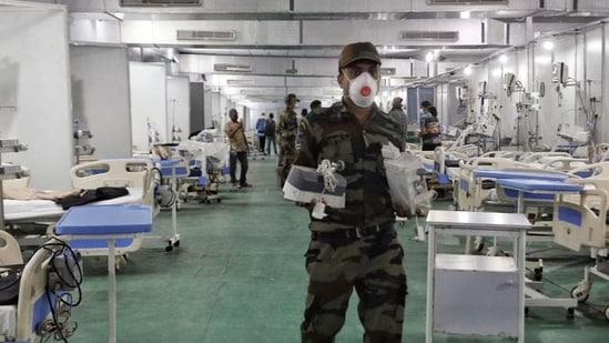 The DRDO is among the organisations that are at the forefront of fighting the second deadly wave of Covid that has ripped through the country.(ANI Photo)