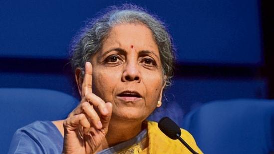 Union finance minister Nirmala Sitharaman (Mint)
