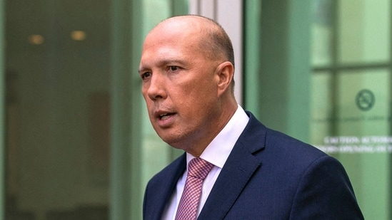 Australia's defence minister Peter Dutton is a hardline ex-cop who publicly clashed with the Chinese government on several occasions. (AFP)